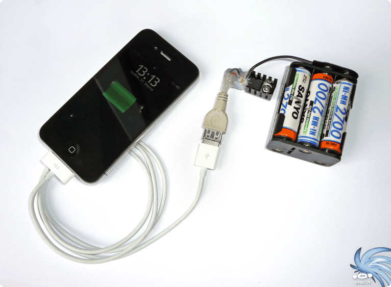 Vyrobte si přenosnou USB nabíječku (i pro iPhone)