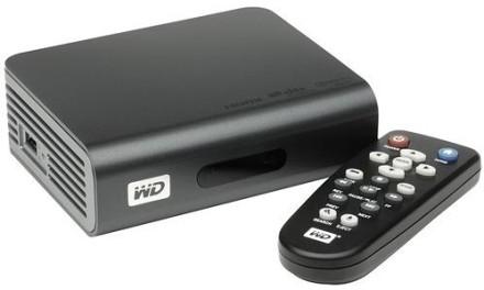 Filmový přehrávač WD TV Live Plus