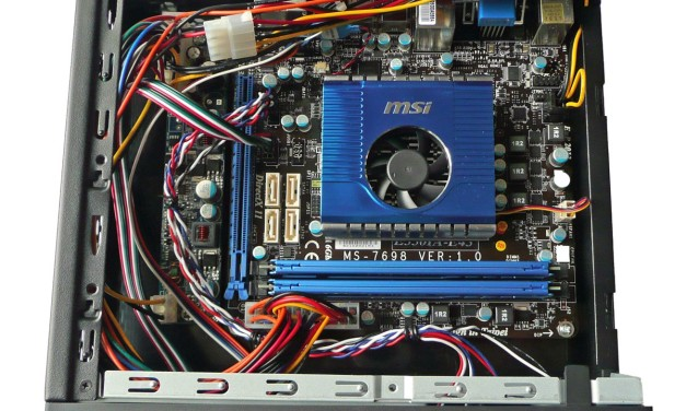 AMD Zacate HTPC on MSI E350IA-E45