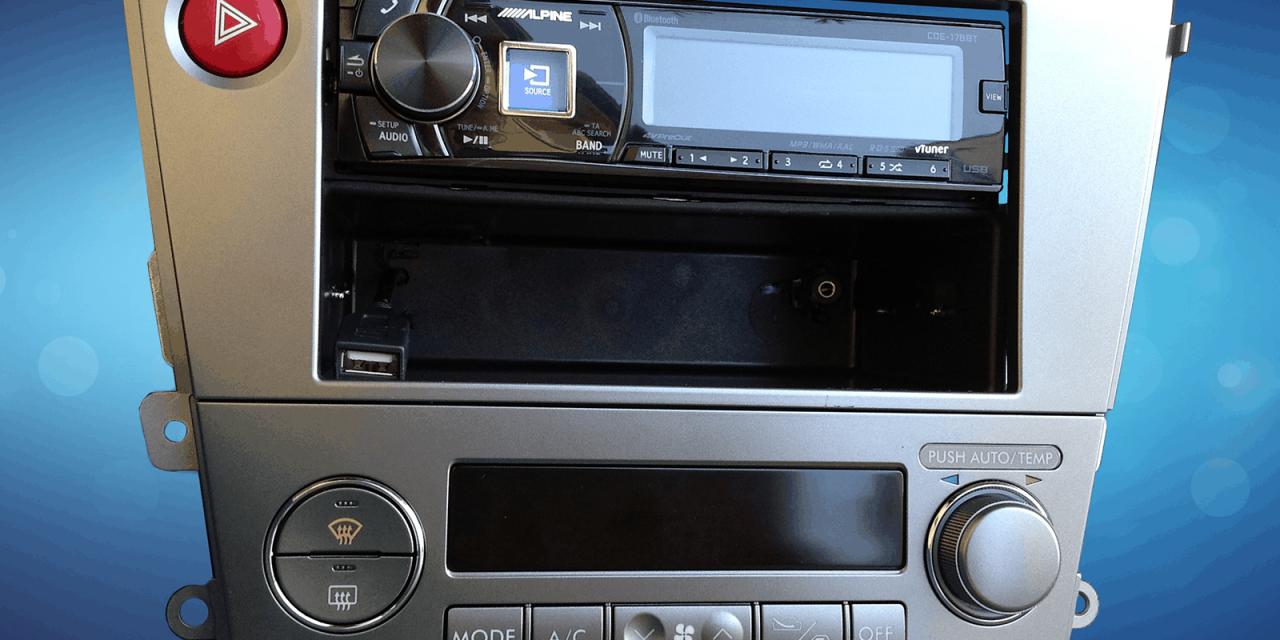 Jak dostat mp3 do Subaru Legacy/Outback?