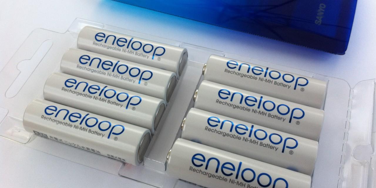 Nejlepší nabíjecí tužkovky? Eneloop 3. generace.