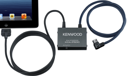 Connect and charge iPhone/iPad with your old Kenwood headunit