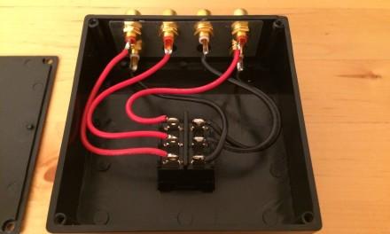 Speaka RCA switch