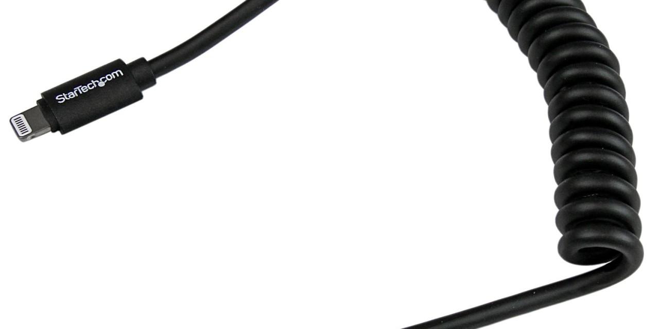 Kroucený Lightning kabel včetně certifikace MFi