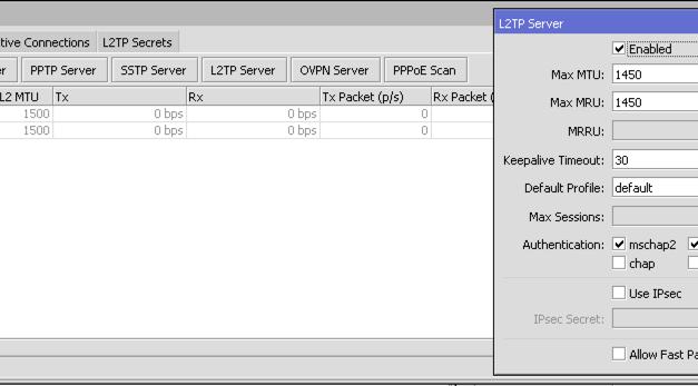 Jak nastavit L2TP/IPSec VPN na zařízeních Mikrotik – funkční step-by-step návod (duben 2019)